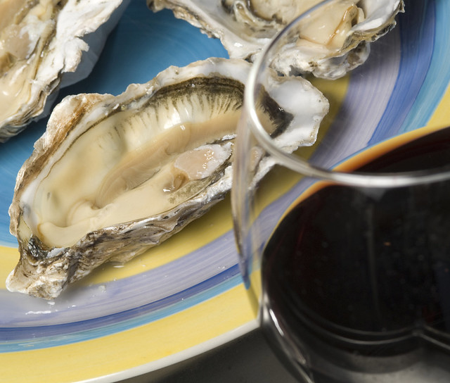 Oysters high in zinc