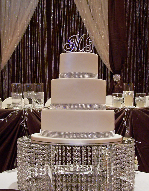 Bling Wedding Cake 12 Quot 9 Quot And 6 Quot All Red V Flickr