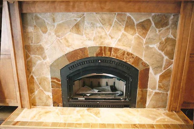 slate tile fireplace surround with arch flickr photo sharing