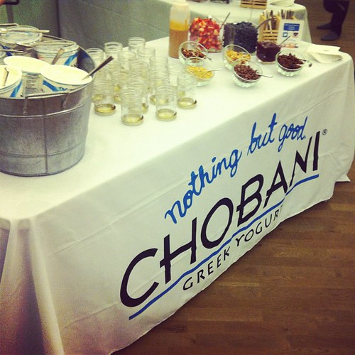 Chobani Barre works