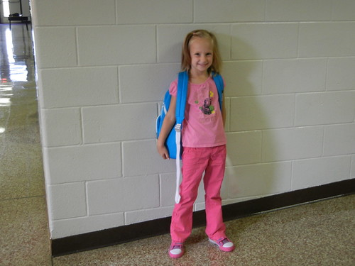Aug 22 2012 First Day of School Haley
