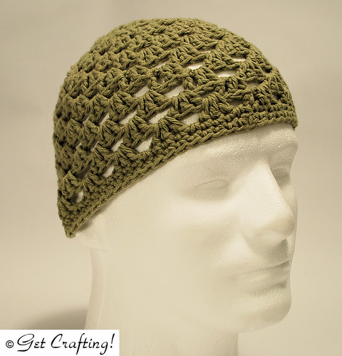 Granny clusters hat - cotton
