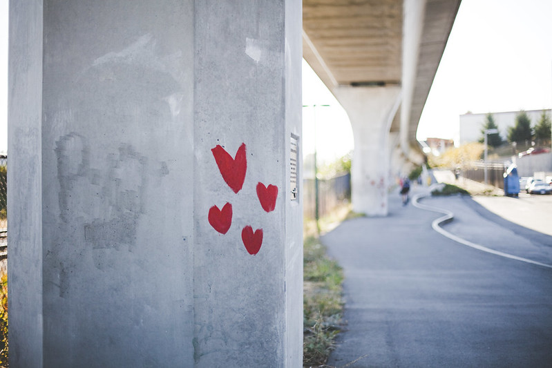 love on the bike trail