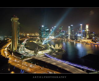 Oh No! Not Another Frickin' Shot of Singapore Marina Bay! :D :: HDR