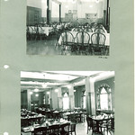 Law Commons dining room, the University of Iowa, between 1938 and 1948