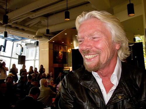Sir Richard Branson in Vancouver