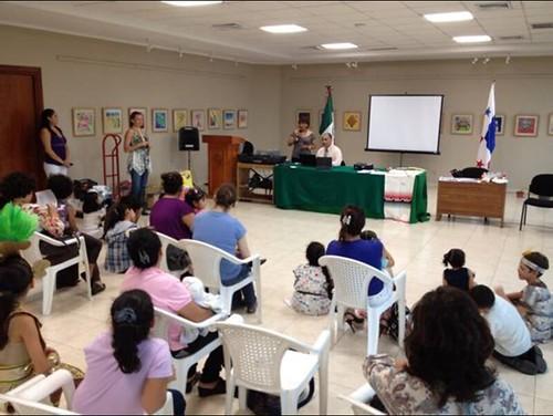 Niños mexicanos residentes en Panamá se divierten aprendiendo sobre leyendas mexicanas