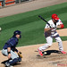 Chicago White Sox Kevin Youkilis hit by pitch