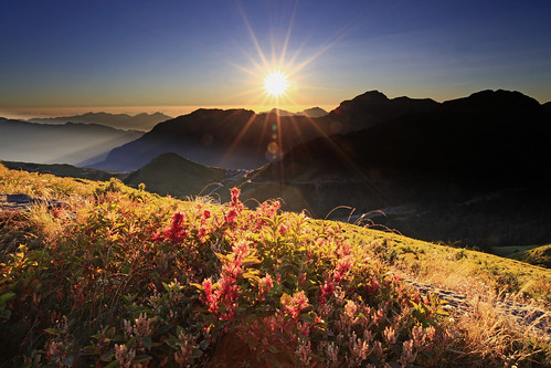 sunrise at  Hehuanshan 合歡日出