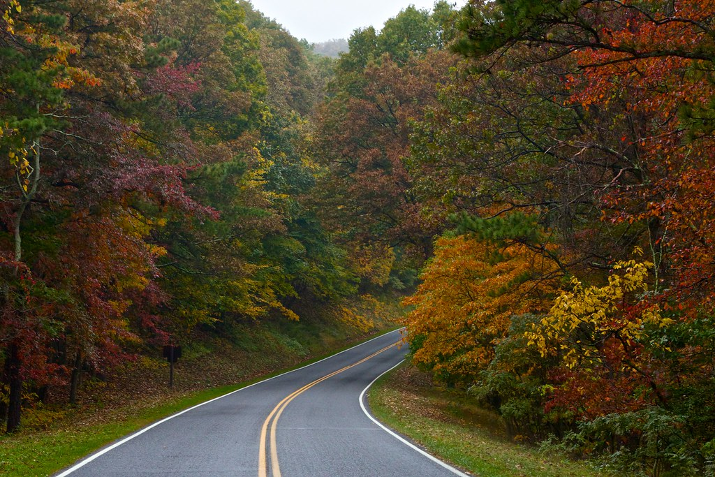 Skyline Drive in Early Autumn