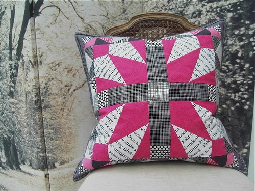 Modern She Made Swap 2 Cushion Finished