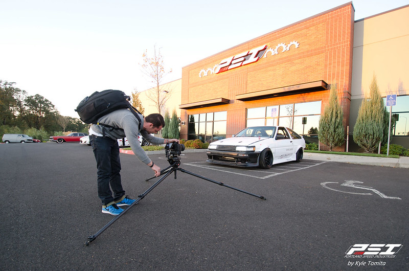Yaer Filming the F20 Hachi