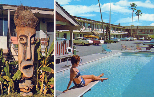 Tropics Motor Hotel - Modesto, California by The Pie Shops