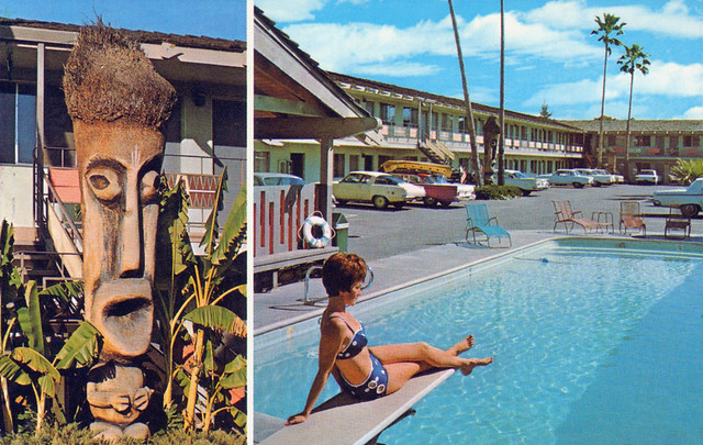 Tropics Motor Hotel Modesto California Flickr Photo