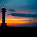 Lighthouse sunset [Explore] by futhark