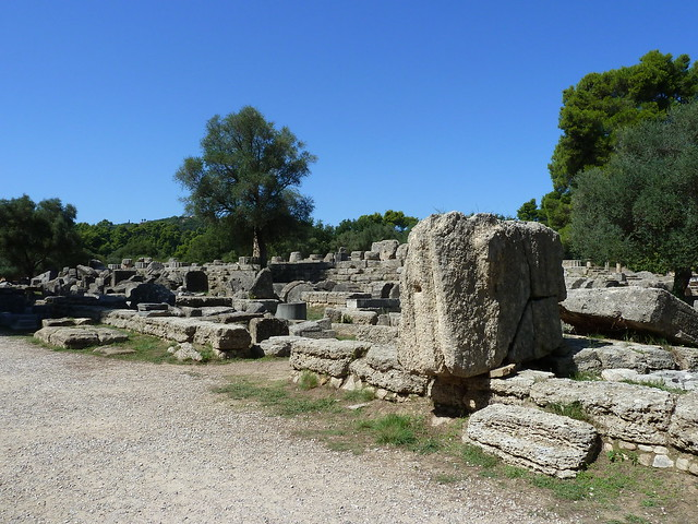 Zeus Temple, or what's left of it