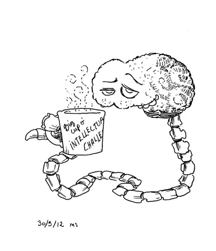 Feeding mah brain