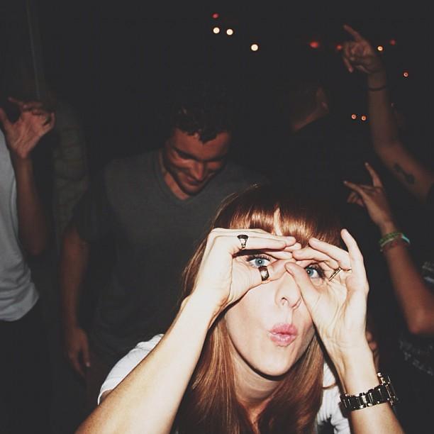Shake ya A$$ but watch ya self @brittblain @soscarlett @kyllesebree @kyllesebree @preciouslim @dominickalonso #goodtimes #californiadreams #danceparty