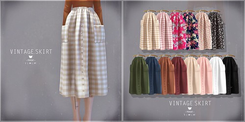 Vintage.Skirt - Collabor88