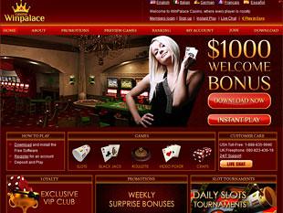 WinPalace Casino Home