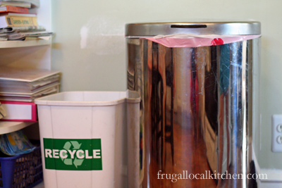 Recycling in the Kitchen