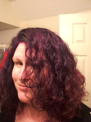 New hair - from front in lower light