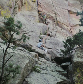 Chris Climbing Washington Irving