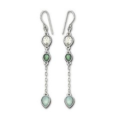 body jewelry, jewellery, gemstone, emerald, silver, earrings,