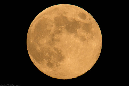 the blue moon of 31 Aug 2012
