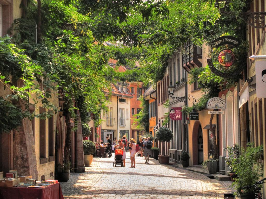 City Life in Freiburg