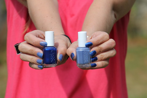 Aruba blue and Smooth Saling by Essie