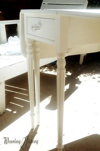 vintage furniture in progress