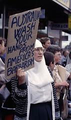 1991 Stop the Gulf War demo 5.jpg
