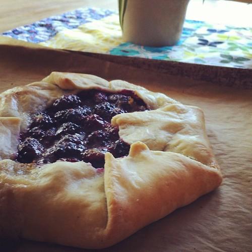 245/366 :: berry tart