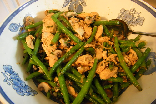 77/365/1538 (August 27, 2012) - Lemon Chicken with Green Beans