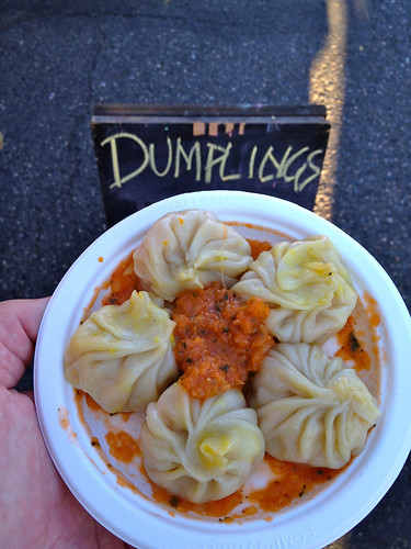 Vegan Himalayan Dumplings from Momo Cart