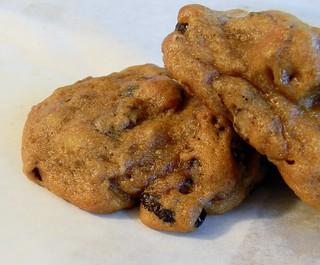 Caramel Granola Cookies