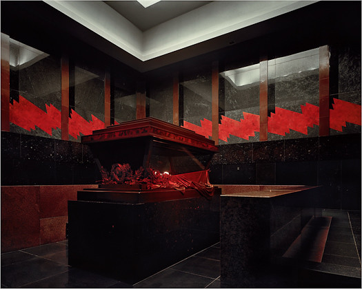 Richard Pare Mausoleum Interior 1998