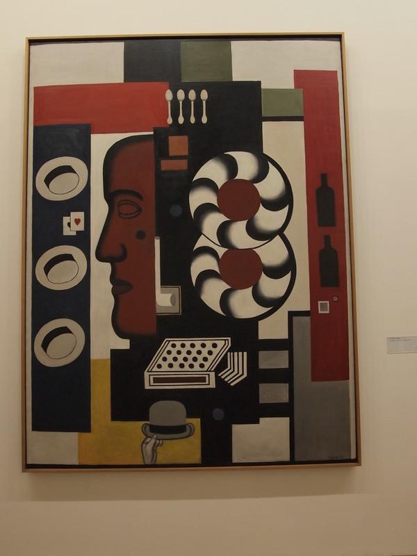 Fernand Léger - Composition à la main et aux chapeau (1927)