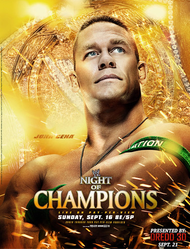 WWE Night of Champions 2012 PVV Wallpaper