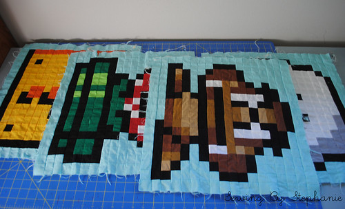 Super Mario Brothers QAL Blocks