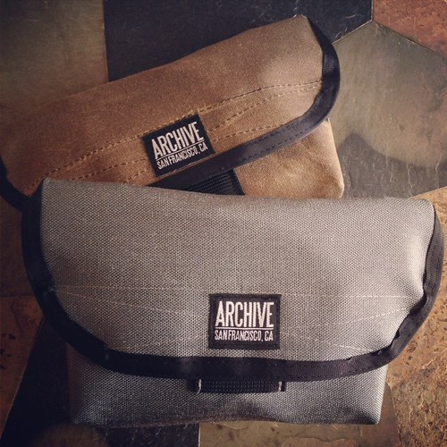Large Hip Bags by Archive Victor