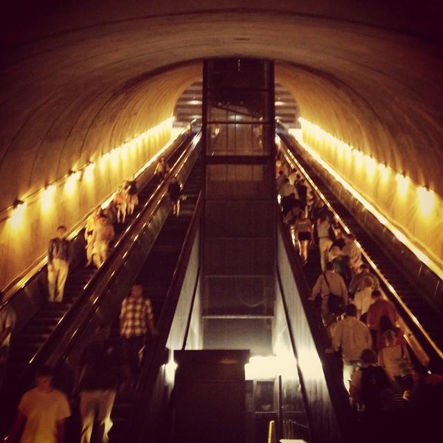 @ Rosslyn Metro Station