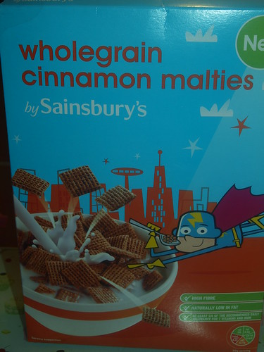 Sainsburys Wholegrain Cinnamon Wheaties