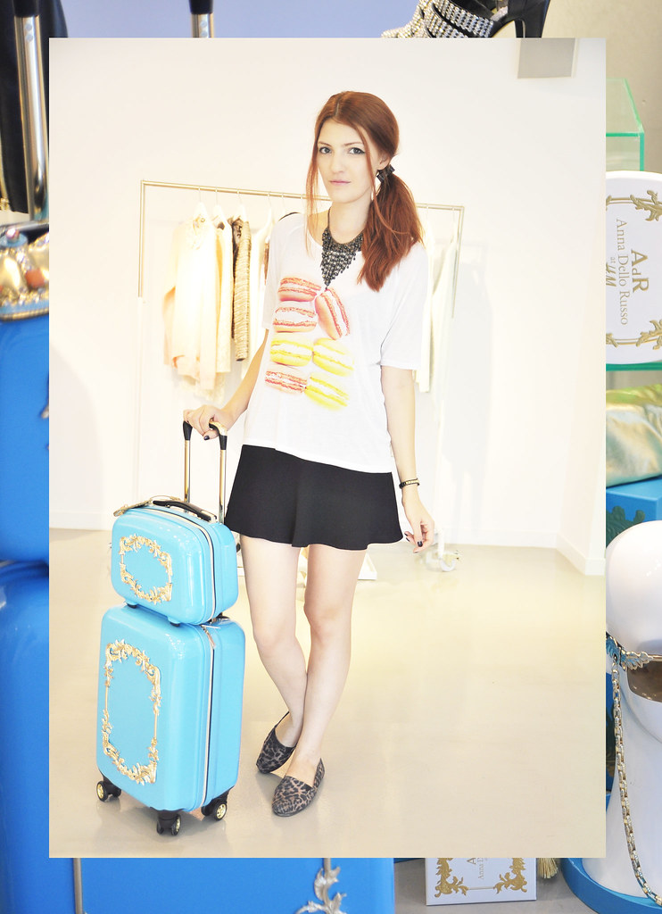 Ana dello Russo at H&M collection preview (17)