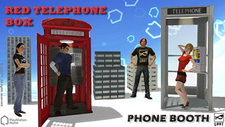 PlayStation Home: Phone Booths
