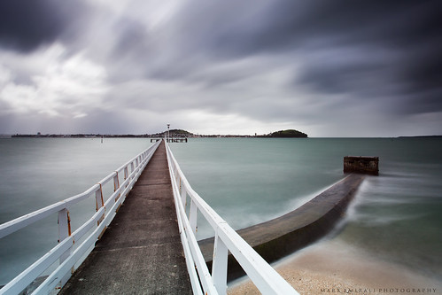ocean longexposure light sea newzealand sky cloud seascape blur colour art nature water clouds landscape mood auckland wharf canon5d aotearoa pipeline copyrighted haurakigulf orakei pleasedonotusewithoutmypermission 5dmkii lee10stop markemiraliphotography