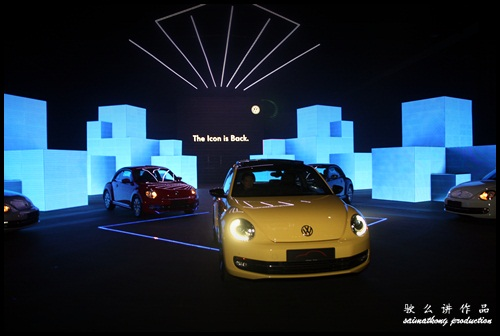 Volkswagen. VW. Das Auto. Show 2012. @ KLCC (Kuala Lumpur Convention Centre) : The New Volkswagen Beetle is here!