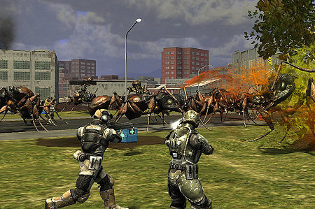 Earth Defense Force 4 Announced For 2013