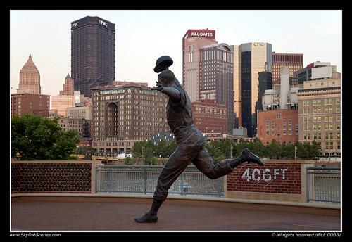 Bill Mazeroski statue near PNC Park
